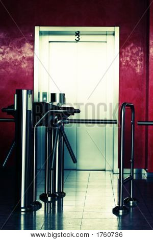 Modern Building Elevator