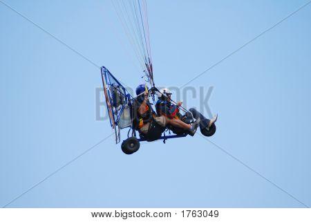 Powered Tandem Paraglider