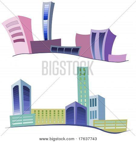 Buildings icon.