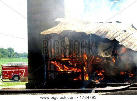 Barn Fire
