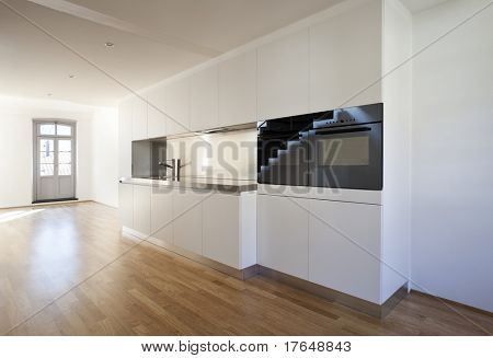 beautiful modern  loft duplex , kitchen view