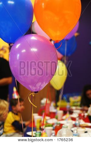 Birthday Party Baloons