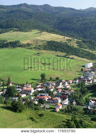 mountain village – Slovakia