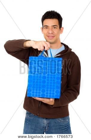 Man With A Shopping Bag