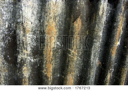 Grungy Corrugated Iron