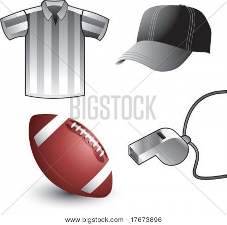 football referee accessories