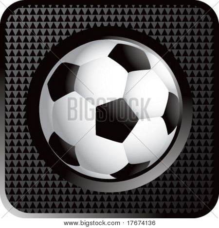 soccer ball web button