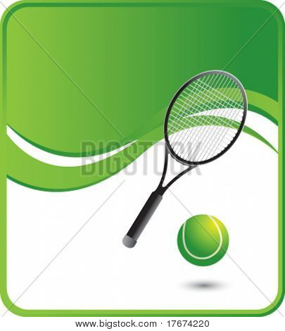 classy tennis background