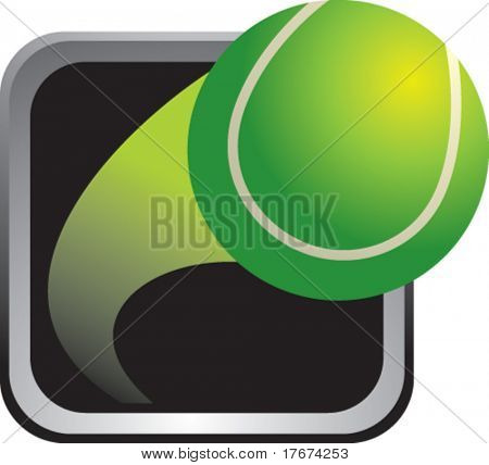silver tennis frame