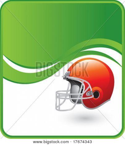 classy football helmet background