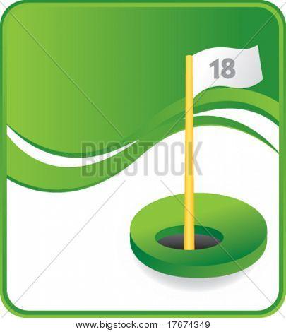 classy golf hole background
