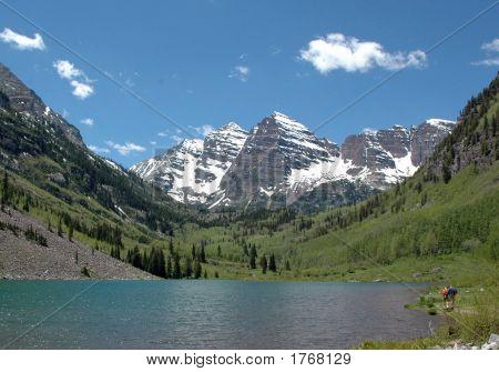 Relaxing Mountainside