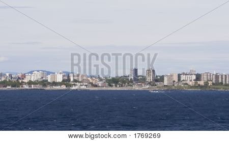 Victoria British Columbia Skyline