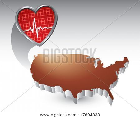 heartbeat featured with the united states