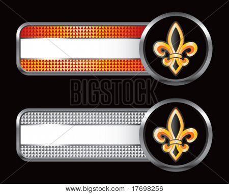 fleur de lis on specialized banners