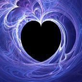 picture of heartfelt  - blue love  - JPG