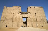 foto of ptolemaic  - Temple of Horus Edfu taken in Egypt - JPG