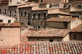 Crowded Spanish Houses