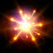 stock photo of big-bang  - Explosion  - JPG