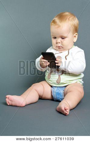 Baby Texting Smart Phone