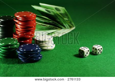 Craps On The Green Table