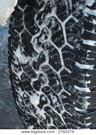 Snow Tire Tread