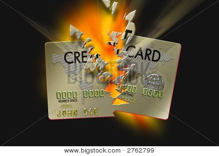 Exploding Credit Card Destroy