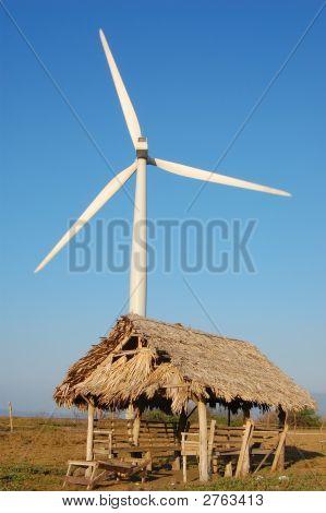 Wind Turbine Shelter