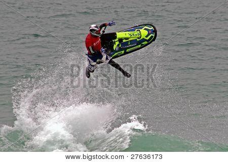Jet ski jumping