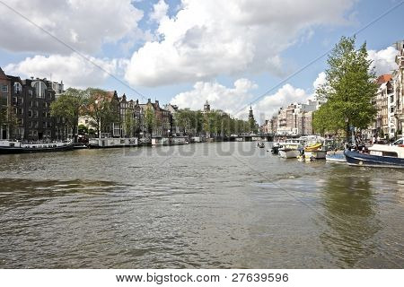 Cityview in Amsterdam the Netherlands