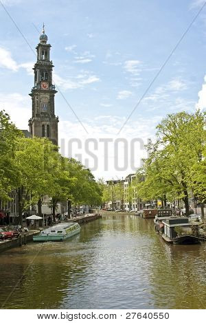 Westerkerk in Amsterdam the Netherlands