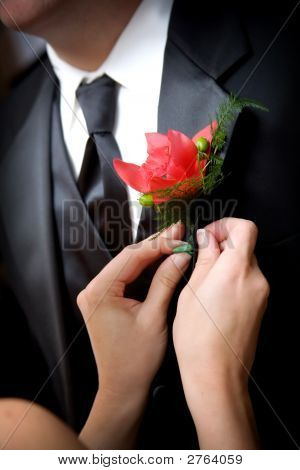 Grooms Wedding Flower