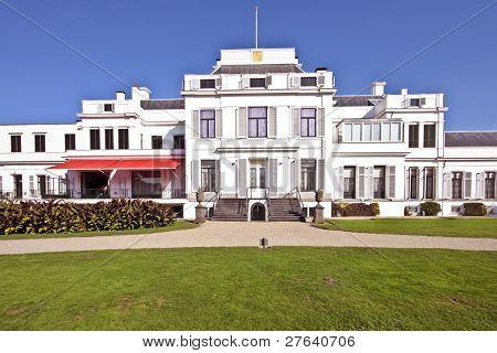Palace Soestdijk, the former residence of Dutch royal family Queen Juliana, Bernard and their children