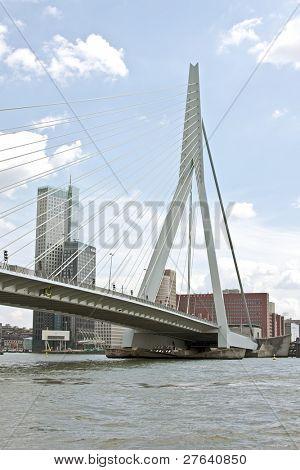 The Erasmus Bridge in Rotterdam the Netherlands
