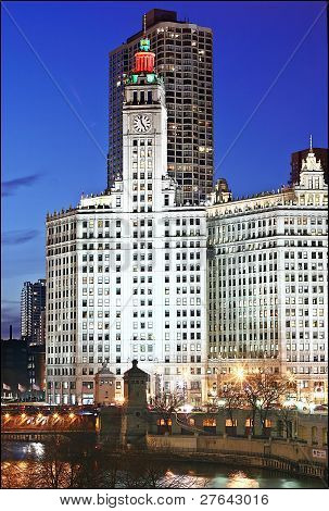 Wrigley Building,Chicago, Illinois