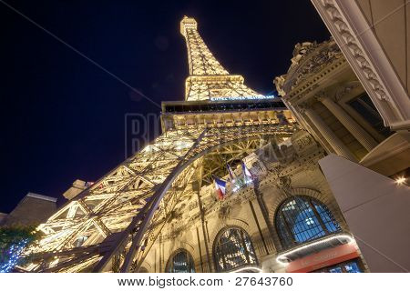 Las Vegas, Nv -  April 10: Paris Las Vegas On April 10, 2011 In Las Vegas. It Includes A Half Scale,