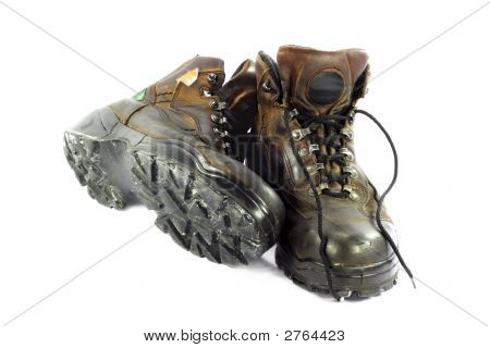 Used Safety Shoes.
