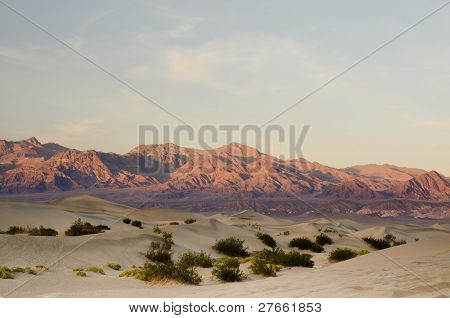 Desert Mountain Range