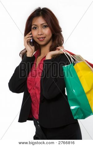 Calling Home After Shopping