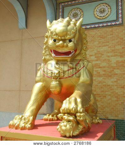 Golden Imperial Guardian Lion (Female)