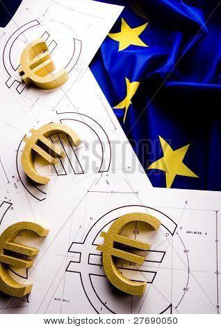 Flag & Euro