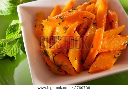 Orange Glazed Carrot