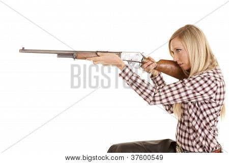 Cowgirl Aim Rifle