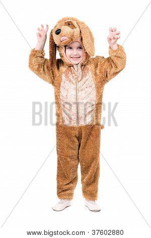 Funny Boy Dressed As Dog