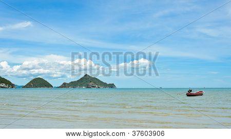 Tropical Sea In Thailand