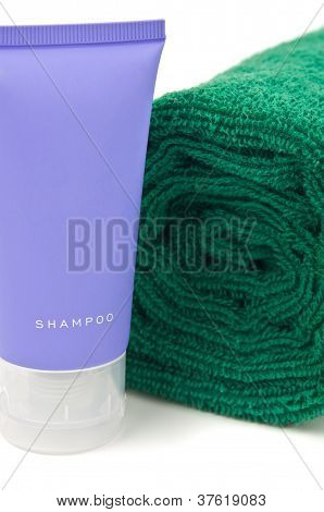 Towel And Shampoo