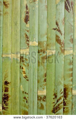 Wooden structure bamboo
