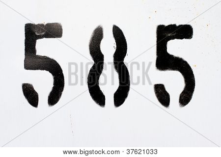 five and eight numbers