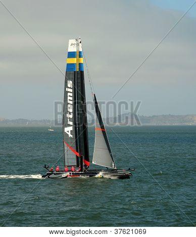Artemis Racing Team Sailboat