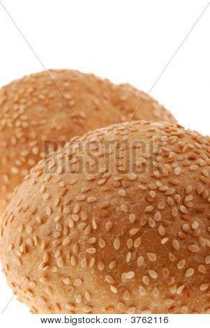 Bun For Sandwich Close Up